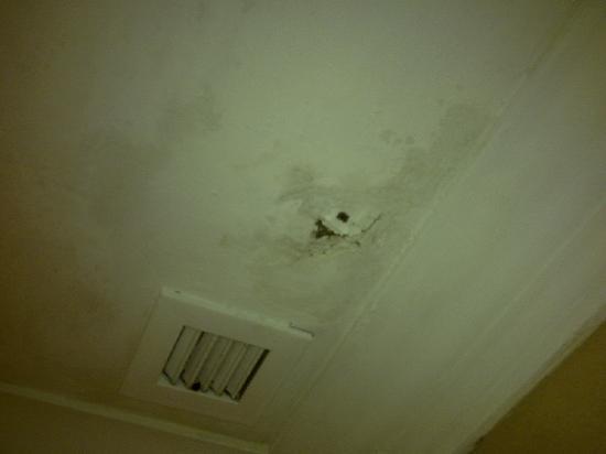 The Katerina Hotel: ceiling hole