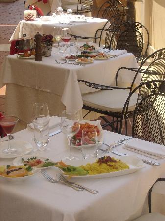 Hotel San Giorgio: Piccadilly Restaurant Terrace