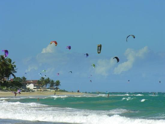 Velero Beach Resort: kite surfer