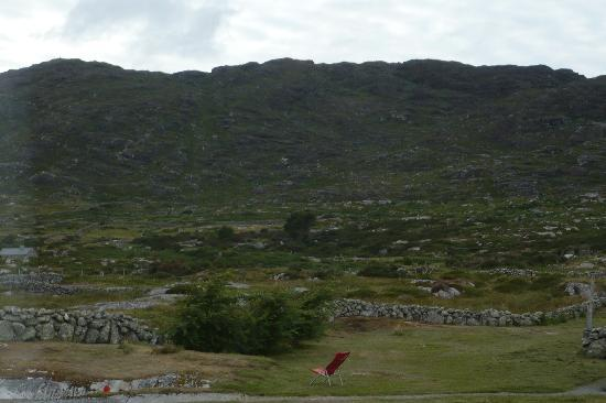 Errisbeg Lodge: view from our room