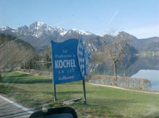 Kochelsee: welcome in Kochel am See