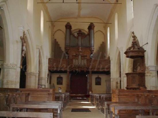 St. Sindulphe : view toward the back