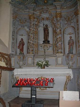 St. Sindulphe : main altar closeup