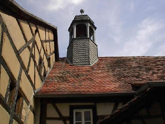 Kirchenburgmuseum: again the 'Spitaltor'