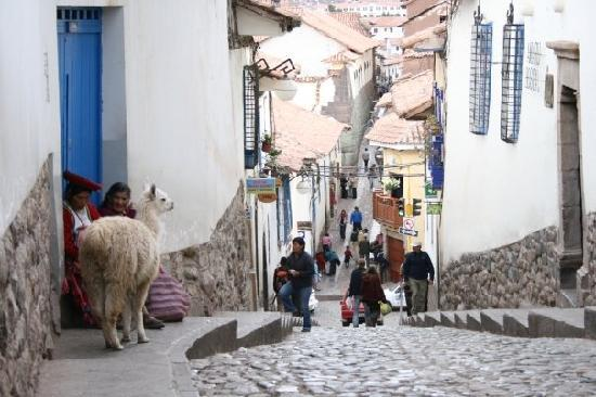 Streets in Cusco