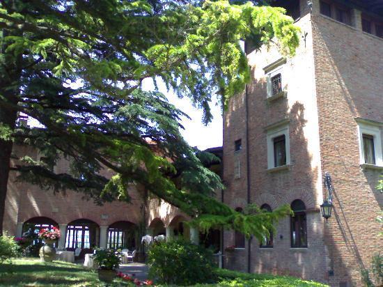 Hotel Villa Pambuffetti: Esterno frontale di Villa Pambuffetti