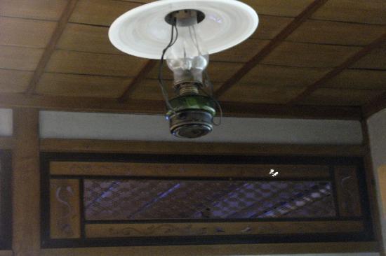 Yomemachi Furusatokan : 欄間と天井