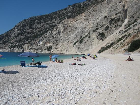 Cephalonia, Yunanistan: Myrtos beach