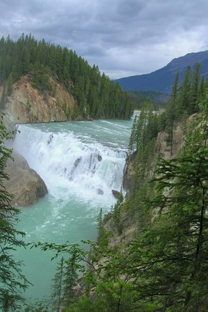 Banff, Kanada: Wapta Falls Yoho National Park