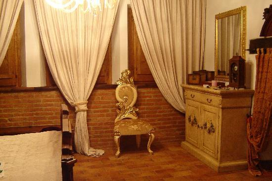 Antica Dimora Le Contrade: Our bedroom