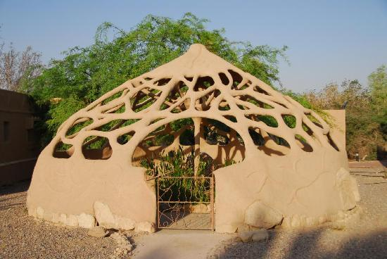 Kibbutz Lotan Desert Inn : In between the bungalows