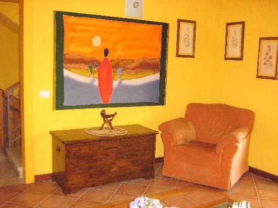 La Borgata: La sala relax