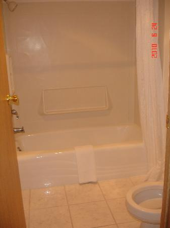 Econo Lodge Inn & Suites: more bathroom