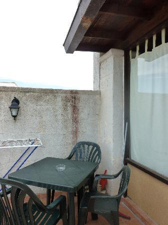 Pino Residence : la veranda