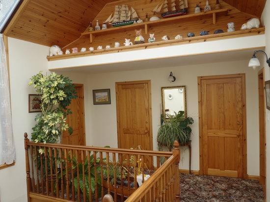 Miller's House: upstairs hallway