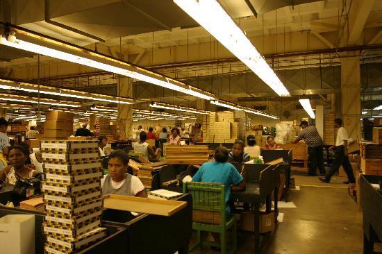 Tabacalera de Garcia Factory Tour: Packing
