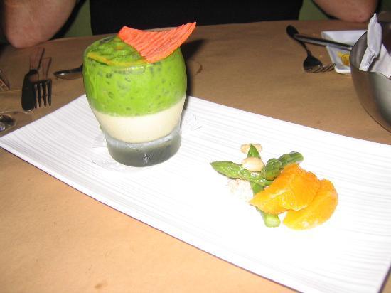 Auberge Place D'Armes: Imaginative cuisine at Le Pain Beni