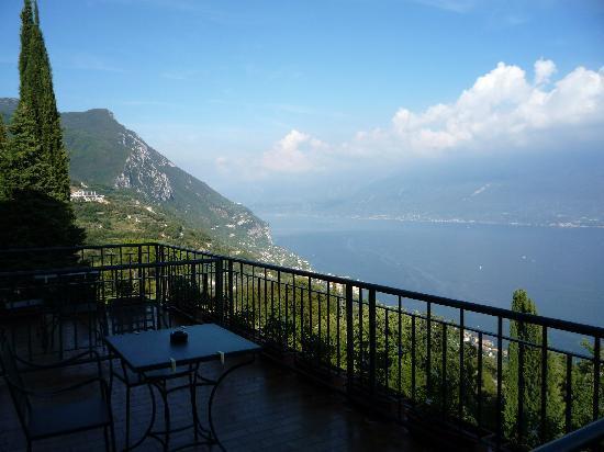 Boutique Hotel Villa Sostaga: Aussicht aus dem Zimmer.....