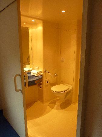 Ibis Budget Colmar Centre Ville: toilet