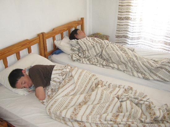 Panklitos Apartments : Sleepy heads!!
