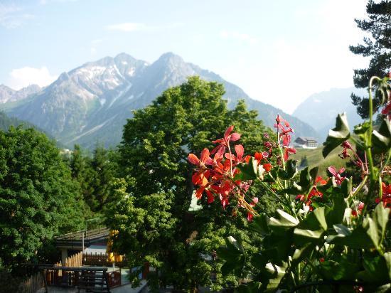 Alphotel Hirschegg: Room with a view!!