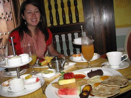 Palacio de Doña Leonor: Breakfast