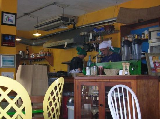 Cocina Creativa: Old photo but you can see in the far left the owner MArtin