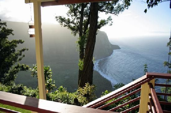 Waipio Rim: die private Terrasse