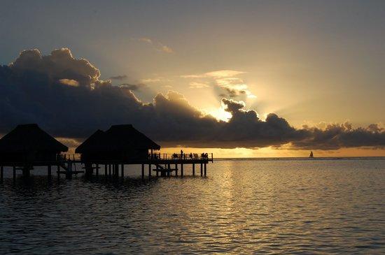 Papetoai, Polinésia Francesa: Sunset