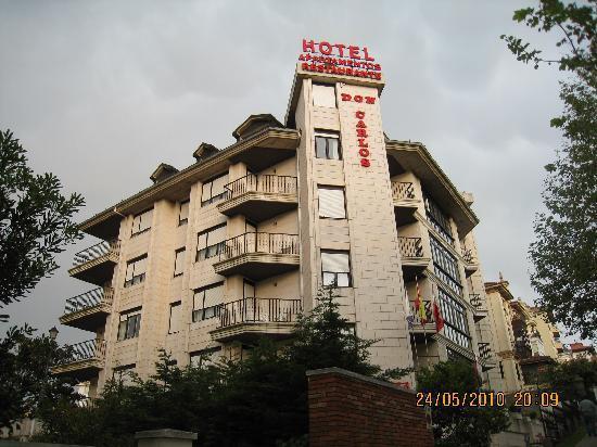 Hotel Apartamentos Don Carlos: Hotel