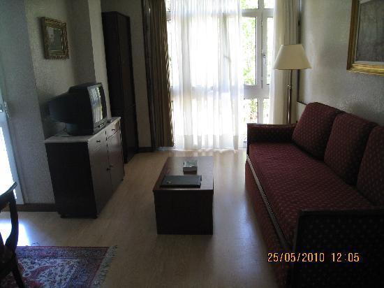 Hotel Apartamentos Don Carlos: Our room