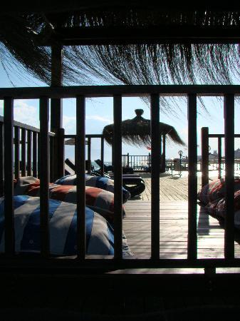 فندق لارا بيتش: Hotel pier