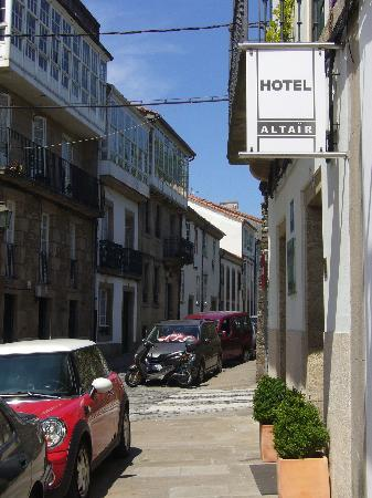 Altair Hotel: From the street