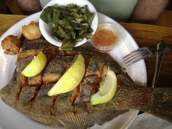 Hyman's Seafood: flounder