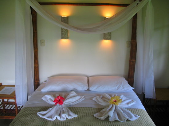 Lodge Las Ranas: Bed