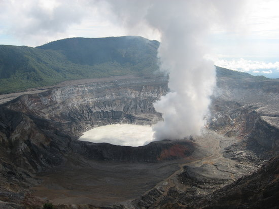San José, Costa Rica: Poas Volcano