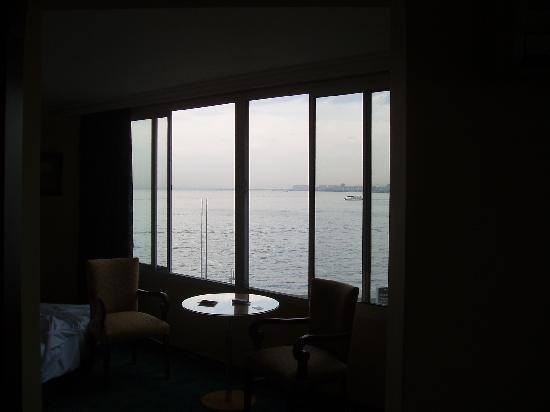 Hotel Izmir Palas: Ausblick am Abend