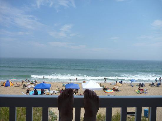 The Beach House: View from the private deck
