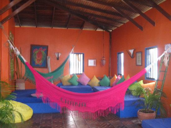 Posada Galapagos: La entrada de la posada