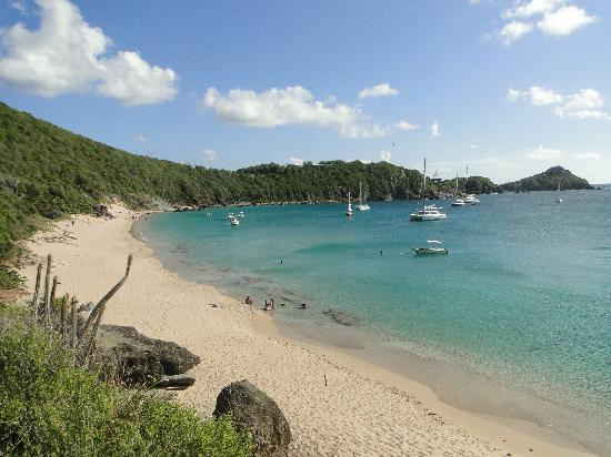 Anse des Flamands, St. Barthelemy: colombier beach