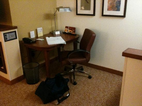 Hyatt Place Roanoke: Productive work area