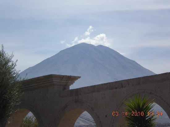 Arequipa, Peru: The Misti active volcano