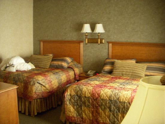 Rushmore Express Inn & Family Suites: Room 238 Back room with beds (no doorway) back bed can't be seen from living room