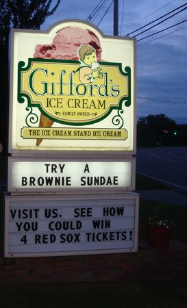 Gifford's Famous Ice Cream