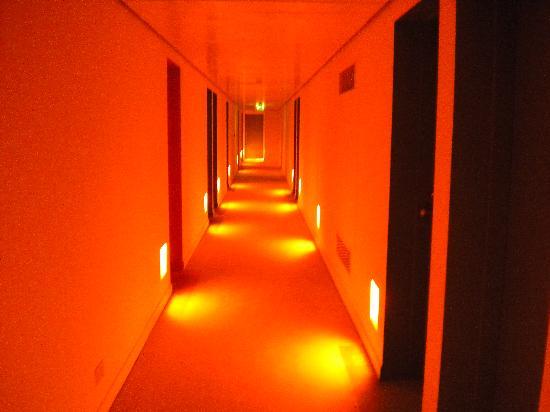 St Martins Lane London Hotel The Dark Hallways Your Room Number Is On