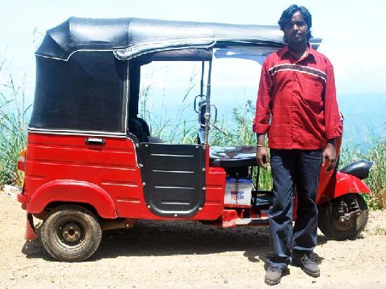 Olympus Plaza Hotel: Kastinlow, my 3-wheel driver