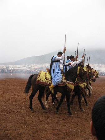 Sidi Ifni, Marrocos: fantasia