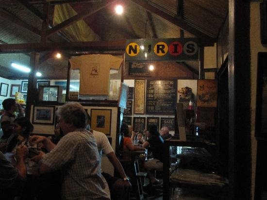 Naughty Nuri's Warung and Grill: Interior of the restuarant
