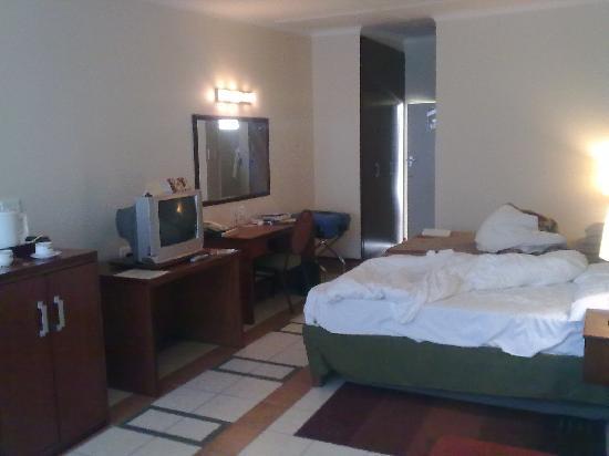 Safari Hotel: Standard room seen from window