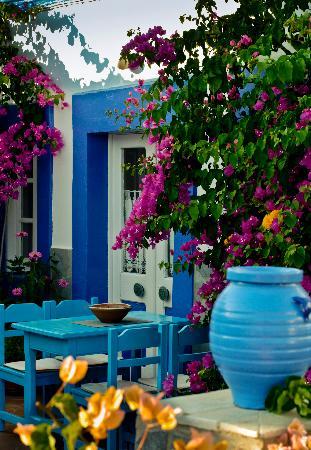 Skala, Greece: Hotel terrace